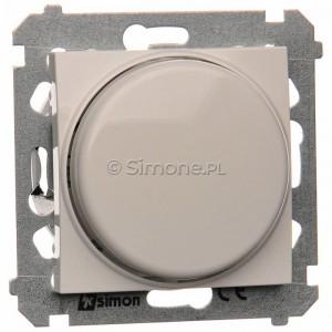 Simon 54 DS9L.01/11 - Ściemniacz naciskowo-obrotowy do LED - Biały - Podgląd zdjęcia nr 1