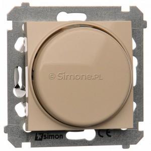 Simon 54 DS9L.01/41 - Ściemniacz naciskowo-obrotowy do LED - Kremowy - Podgląd zdjęcia nr 1
