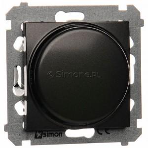 Simon 54 DS9L.01/48 - Ściemniacz naciskowo-obrotowy do LED - Antracyt - Podgląd zdjęcia nr 1