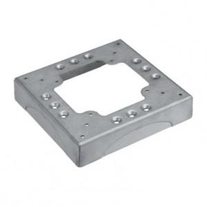 Simon Connect KTA804/8 - Podstawa 4 nacięcia 85x18mm  aluminium - Podgląd zdjęcia nr 1
