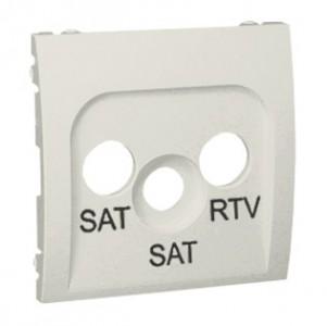Simon Classic MAS2P/10 - Pokrywa gniazda antenowego RTV-SAT-SAT - Ecru - Podgląd zdjęcia nr 1