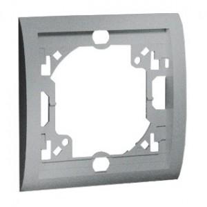 Simon Classic MR1/26 - Ramka pojedyncza - Aluminiowy Met. - Podgląd zdjęcia nr 1