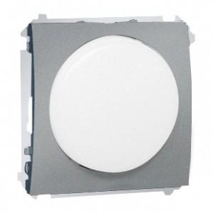 Simon Classic MSS/1.01/26 - Sygnalizator świetlny LED - światło białe (Mechanizm + Plakietka) - Aluminiowy Met. - Podgląd zdjęcia nr 1