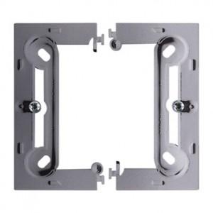 Simon Basic PSCS/21 - Puszka instalacyjna pojedyncza naścienna składana - Stal Inox - Podgląd zdjęcia nr 1