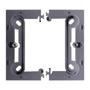 Simon Basic PSCS/43 - Puszka instalacyjna pojedyncza naścienna składana - Srebrny Mat - Podgląd zdjęcia nr 1