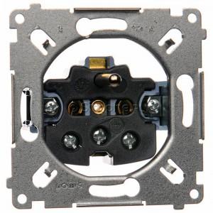 Simon 54 SGZ1M - Mechanizm gniazda pojedynczego z uziemieniem 16A (zaciski śrubowe) - Mechanizmy - Podgląd zdjęcia nr 1